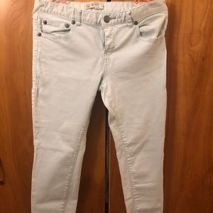 Baby blue Free People Jeans